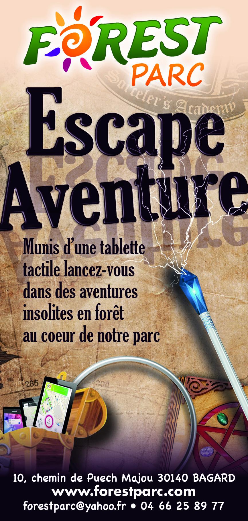 Flyer escape aventure